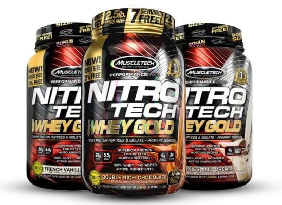 Спортивное питание от Muscletech